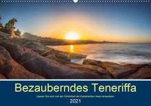 Stephan Kelle: Bezauberndes Teneriffa (Wandkalender 2021 DIN A2 quer), Kalender