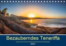 Stephan Kelle: Bezauberndes Teneriffa (Tischkalender 2021 DIN A5 quer), Kalender