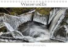 Dirk Rosin: Wasser ud Eis (Tischkalender 2021 DIN A5 quer), Kalender