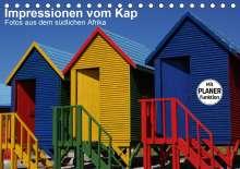 Andreas Werner: Impressionen vom Kap (Tischkalender 2021 DIN A5 quer), Kalender
