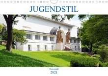 Wolfgang Gerstner: Jugendstil - Darmstadt (Wandkalender 2021 DIN A4 quer), Kalender
