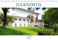 Wolfgang Gerstner: Jugendstil - Darmstadt (Tischkalender 2021 DIN A5 quer), Kalender