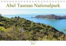 André Tams: Abel Tasman Nationalpark (Tischkalender 2021 DIN A5 quer), Kalender