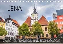 Val Thoermer: Jena - zwischen Tradition und Technologie (Tischkalender 2021 DIN A5 quer), Kalender