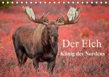 Pelzer (www. pelzer-photography. com), Claudia: Der Elch - König des Nordens (Tischkalender 2021 DIN A5 quer), Kalender