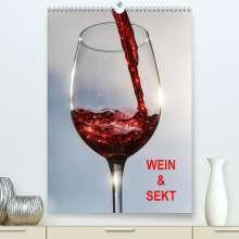 Thomas Jäger: Wein und Sekt (Premium, hochwertiger DIN A2 Wandkalender 2021, Kunstdruck in Hochglanz), Kalender