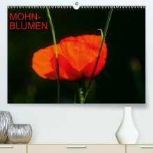 Thomas Jäger: Mohnblumen (Premium, hochwertiger DIN A2 Wandkalender 2021, Kunstdruck in Hochglanz), Kalender