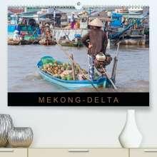 Martin Ristl: Mekong-Delta (Premium, hochwertiger DIN A2 Wandkalender 2021, Kunstdruck in Hochglanz), Kalender