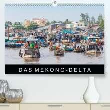 Martin Ristl: Das Mekong-DeltaAT-Version  (Premium, hochwertiger DIN A2 Wandkalender 2021, Kunstdruck in Hochglanz), Kalender