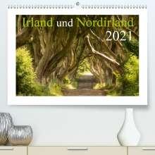 Katja Jentschura: Irland und Nordirland 2021 (Premium, hochwertiger DIN A2 Wandkalender 2021, Kunstdruck in Hochglanz), Kalender