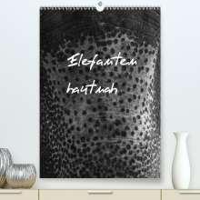 Antje Hopfmann: Elefanten hautnah (Premium, hochwertiger DIN A2 Wandkalender 2021, Kunstdruck in Hochglanz), Kalender