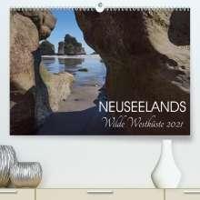 Katja Jentschura: Neuseelands wilde Westküste (Premium, hochwertiger DIN A2 Wandkalender 2021, Kunstdruck in Hochglanz), Kalender