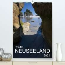 Katja Jentschura: Wildes Neuseeland (Premium, hochwertiger DIN A2 Wandkalender 2021, Kunstdruck in Hochglanz), Kalender