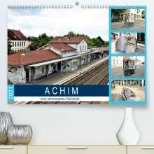 Günther Klünder: ACHIM - eine sehenswerte Kleinstadt (Premium, hochwertiger DIN A2 Wandkalender 2021, Kunstdruck in Hochglanz), Kalender