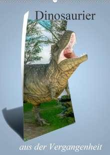 Alain Gaymard: Dinosaurier aus der Vergangenheit (Wandkalender 2021 DIN A2 hoch), Kalender