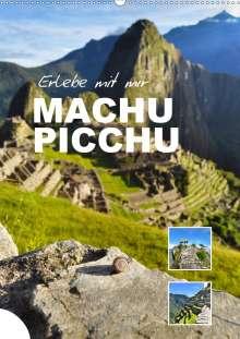 Nadine Büscher: Erlebe mit mir Machu Picchu (Wandkalender 2021 DIN A2 hoch), Kalender