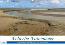 Andreas Klesse: Welterbe Wattenmeer (Wandkalender 2021 DIN A2 quer), Kalender