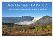 Katharina Hubner: Magic Moments - LA PALMA (Tischkalender 2021 DIN A5 quer), Kalender