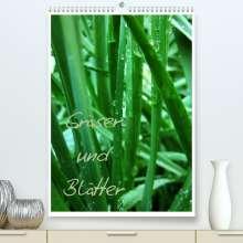 Anja Otto: Gräser und Blätter (Premium, hochwertiger DIN A2 Wandkalender 2022, Kunstdruck in Hochglanz), Kalender