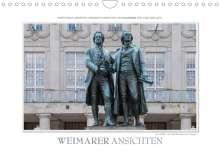 Ingo Gerlach: Emotionale Momente: Weimarer Ansichten. (Wandkalender 2022 DIN A4 quer), Kalender