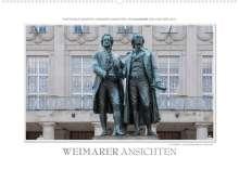Ingo Gerlach: Emotionale Momente: Weimarer Ansichten. (Wandkalender 2022 DIN A2 quer), Kalender