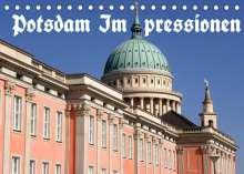 Bernhard Wolfgang Schneider: Potsdam Impressionen (Tischkalender 2022 DIN A5 quer), Kalender