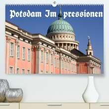 Bernhard Wolfgang Schneider: Potsdam Impressionen (Premium, hochwertiger DIN A2 Wandkalender 2022, Kunstdruck in Hochglanz), Kalender
