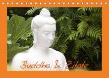 Elisabeth Stanzer: Buddha & Zitate (Tischkalender 2022 DIN A5 quer), Kalender