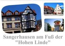 "Elke Krone: Sangerhausen am Fuße der ""Hohen Linde"" (Wandkalender 2022 DIN A2 quer), Kalender"