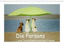 Kathrin Köntopp: Die Parsons (Wandkalender 2022 DIN A4 quer), Kalender