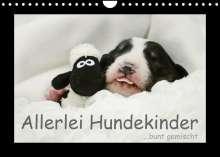 Kathrin Köntopp: Allerlei Hundekinder (Wandkalender 2022 DIN A4 quer), Kalender