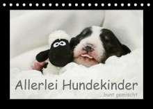 Kathrin Köntopp: Allerlei Hundekinder (Tischkalender 2022 DIN A5 quer), Kalender