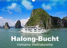 Klaus Eppele: Halong-Bucht - Vietnams Weltnaturerbe (Wandkalender 2022 DIN A3 quer), Kalender