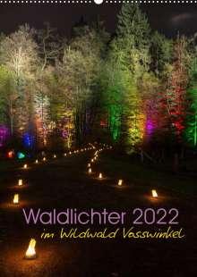 Britta Lieder: Waldlichter im Wildwald Vosswinkel 2022 (Wandkalender 2022 DIN A2 hoch), Kalender