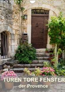 Thomas Seethaler: Türen, Tore, Fenster der Provence (Wandkalender 2022 DIN A4 hoch), Kalender