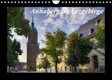 Matthias Bellmann: Annaberg im Erzgebirge (Wandkalender 2022 DIN A4 quer), Kalender