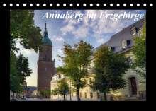 Matthias Bellmann: Annaberg im Erzgebirge (Tischkalender 2022 DIN A5 quer), Kalender