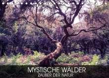 Val Thoermer: Mystische Wälder - Zauber der Natur (Tischkalender 2022 DIN A5 quer), Kalender