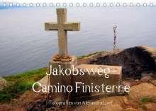 Alexandra Luef: Jakobsweg - Camino Finisterre (Tischkalender 2022 DIN A5 quer), Kalender
