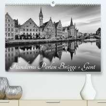 Andreas Klesse: Flanderns Perlen Brügge + Gent (Premium, hochwertiger DIN A2 Wandkalender 2022, Kunstdruck in Hochglanz), Kalender