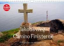 Alexandra Luef: Jakobsweg - Camino Finisterre (Wandkalender 2022 DIN A4 quer), Kalender