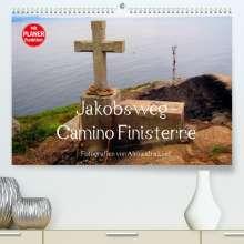 Alexandra Luef: Jakobsweg - Camino Finisterre (Premium, hochwertiger DIN A2 Wandkalender 2022, Kunstdruck in Hochglanz), Kalender