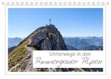 Andreas Vonzin: Unterwegs in den Ammergauer Alpen (Tischkalender 2022 DIN A5 quer), Kalender
