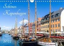 Andreas Weber - Artonpicture: Schönes Kopenhagen (Wandkalender 2022 DIN A4 quer), Kalender