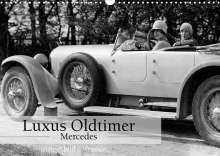 Ullstein Bild Axel Springer Syndication Gmbh: Luxus Oldtimer - Mercedes (Wandkalender 2022 DIN A3 quer), Kalender