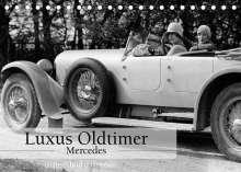 Ullstein Bild Axel Springer Syndication Gmbh: Luxus Oldtimer - Mercedes (Tischkalender 2022 DIN A5 quer), Kalender