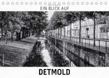 Markus W. Lambrecht: Ein Blick auf Detmold (Tischkalender 2022 DIN A5 quer), Kalender