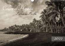 Florian Krauss - Www. Lavaflow. De: Colors of Hawaii - Farben im Pazifik (Wandkalender 2022 DIN A3 quer), Kalender