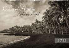 Florian Krauss - Www. Lavaflow. De: Colors of Hawaii - Farben im Pazifik (Wandkalender 2022 DIN A2 quer), Kalender