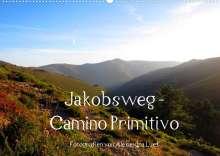 Alexandra Luef: Jakobsweg - Camino Primitivo (Wandkalender 2022 DIN A2 quer), Kalender
